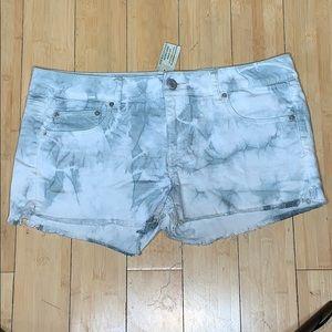 American Eagle Acid Wash Shorts